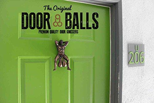 Doorballs - Novelty Doorknockers - Funny Gag Gift Door Hardware