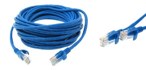 BLUE 200FT CAT5E CAT5 E ETHERNET LAN NETWORK CABLE