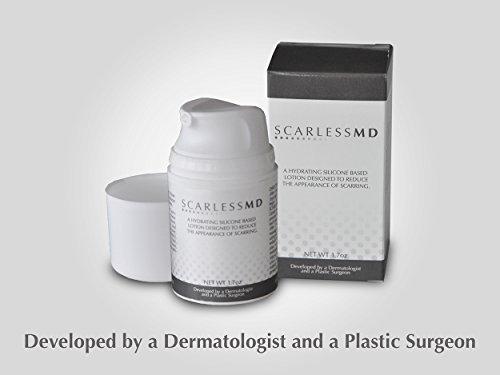 Scarless MD | Advanced Silicone Scar Removal Cream w/Vitamin E | Fades...
