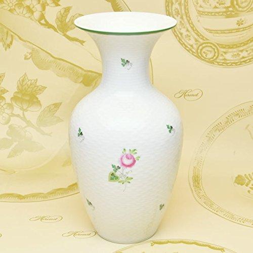 ヘレンド(Herend) 花瓶 VASE(06759) ヘレンドのウイーンのバラ(VRH) ハンドペイント [並行輸入品] B01BLAW4P6