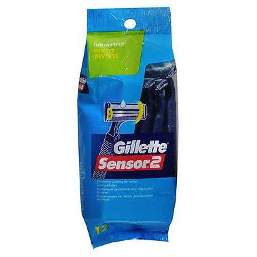 Gillette Sensor 2 Pivot  Razors with Lubrastrip
