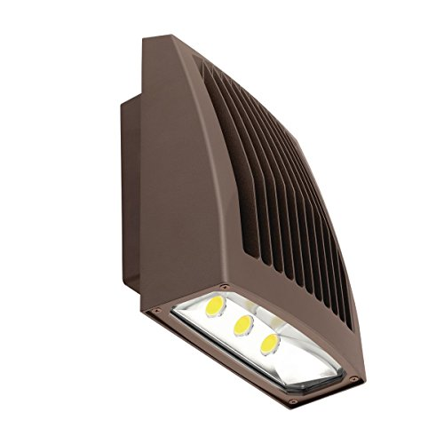 Hubbell SG1-20-PCU SG Sling Series Slender wallpack/floodlight, 21W, 120-277V, 5000K, Bronze, ()
