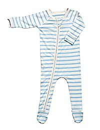 Boody Body Baby EcoWear Long Sleeve Onesie - Cozy Blanket Sleeper Built In Mittens