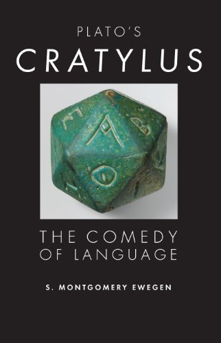 Plato's Cratylus: The Comedy of Language (Studies in Continental Thought)