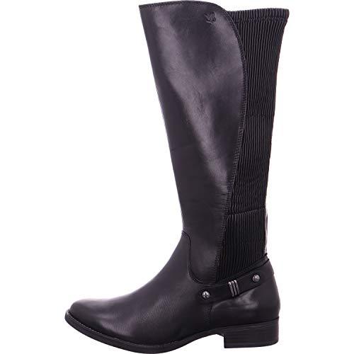 21 Nappa 22 Black 022 Botines Caprice 25521 Noir Femme 9 9 qvnwtT6z
