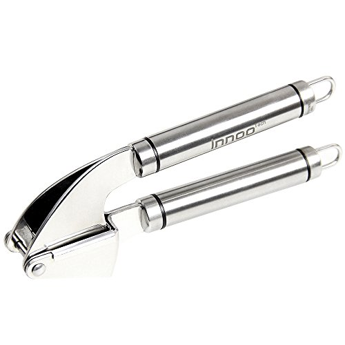 Marvel Stainless Steel Faucet - Innoo Tech Garlic Press Stainless Steel - The Garlic Cookbook eBook Included - Ginger Press