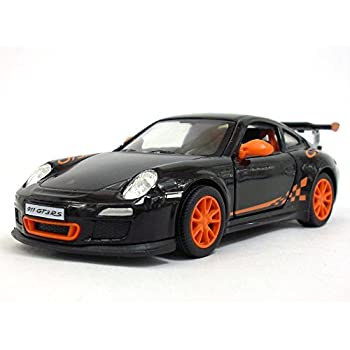 Porsche 911 GT3 RS 1/36 Sclae Diecast Model Car - BLACK