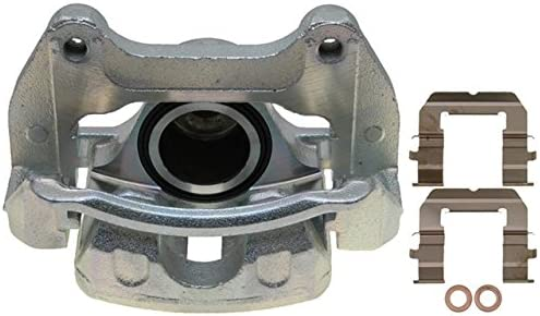 Friction Ready Non-Coated Remanufactured ACDelco 18FR12282 Professional Front Passenger Side Disc Brake Caliper Assembly without Pads