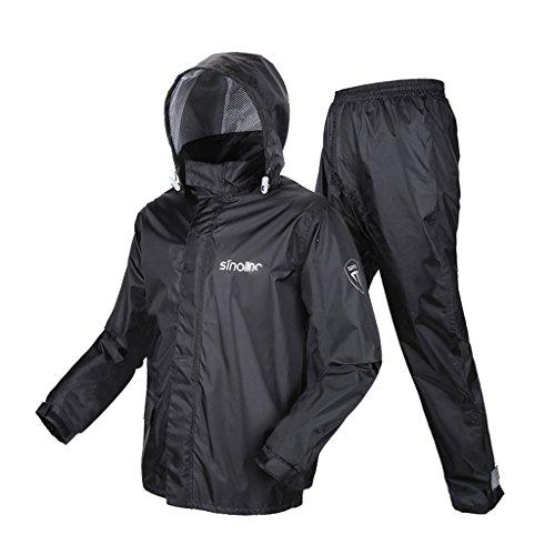 Para Traje Viajes Ropa De Motocicleta Camping tamaño Pantalones Al Impermeable Aire Lluvia Reutilizable Deportiva Xxl Split Libre Adulto Xq1qBwvx