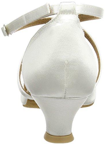 Diamant 092 Shoes Women's 107 Dance Ballroom White 013 rqzHr