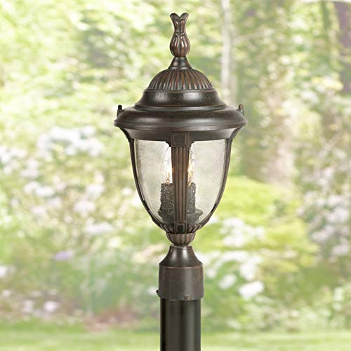 Casa Sierra Traditional Outdoor Post Light Bronze Cast Aluminum 19 1/2