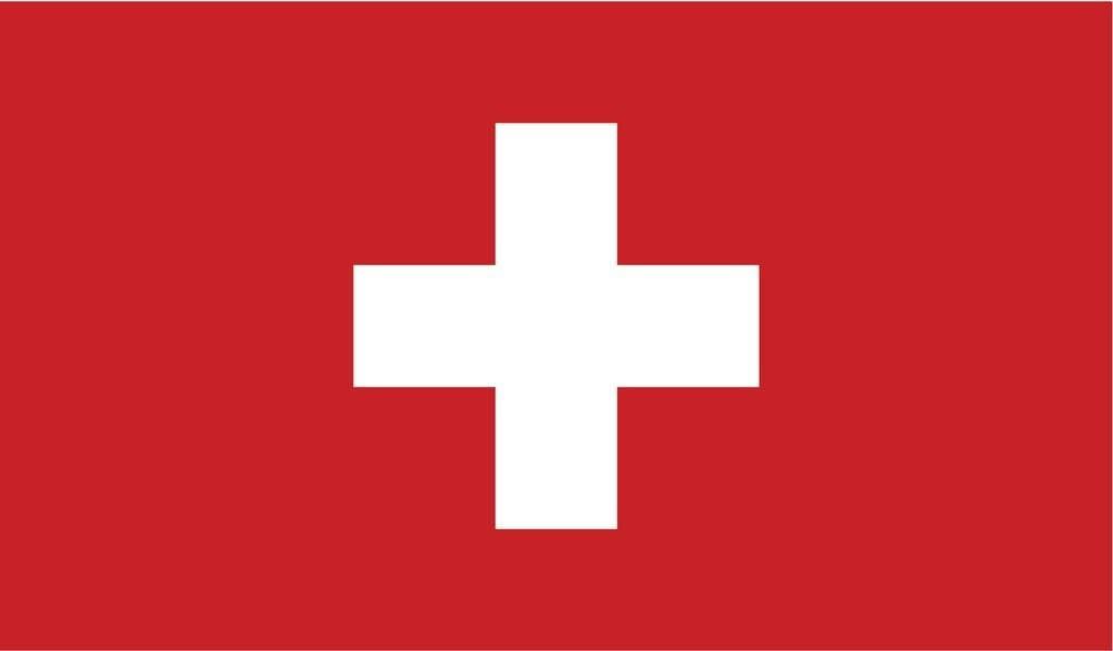 JMM Industries Switzerland Flag Vinyl Decal Sticker Schweizerische Swiss Car Window Bumper 2-Pack 5-Inches by 3-Inches Premium Quality UV-Resistant Laminate PDS544