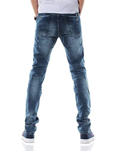 Fashion Abiti Stretch Hx Pantaloni Vintage 36 Taglie Denim Dh8310xblau Dritto Stile Casual Size Jeans 32l T Da Uomo color Comode Lunghi 1d4wdZq