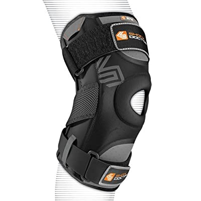 Shock Doctor 872 Adult Knee Support with Dual Hinges, Blk, A/XL