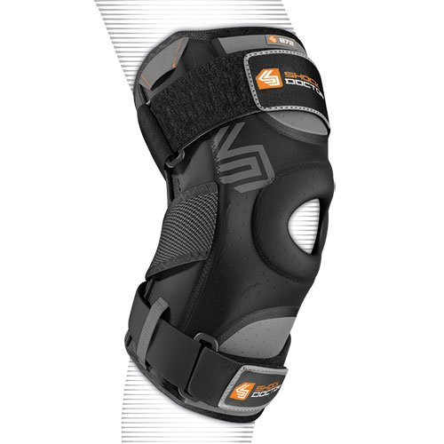 Shock Doctor Knee Support with Dual Hinges - S