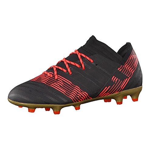 adidas Nemeziz 17.2 FG, Scarpe da Calcio Uomo Nero (Cblack/Cblack/Solred)
