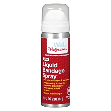 Walgreens Liquid Bandage Vitamin C Spray - 1 oz can