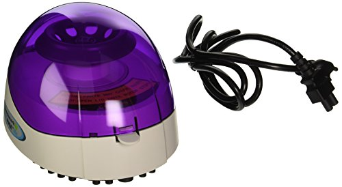 Benchmark Scientific C1008-P MyFuge Mini Centrifuge with Purple Lid and 2 Rotors, 100-240V, US Plug