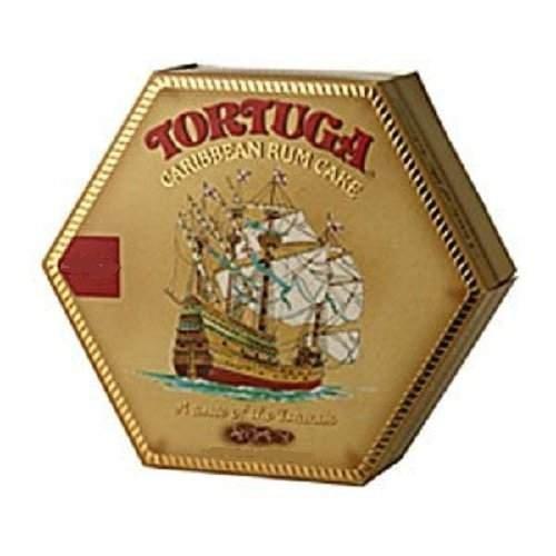 Tortuga Caribbean Rum Cake, 4 ounce Coconut Flavored - Cayman Islands Tortuga Rum