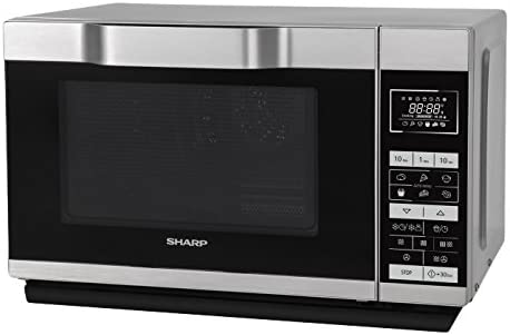 Microondas Encimera, Microondas combinado, 25 L, 900 W, Tocar, Plata Sharp Home Appliances R860S Encimera