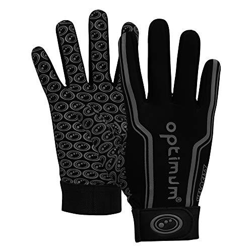 Optimum TThermal Grip Sports Gloves for Soccer, Football, Hockey, Field Player Running Gloves, Medium