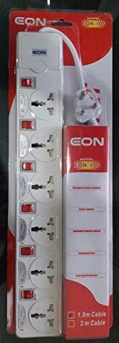 EON 106 Extension Board 6 Socket Spike Guard