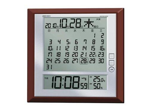 セイコー SEIKO 電波時計 掛置兼用時計 SQ421B B00XXOVTIM