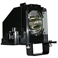 Mitsubishi WD-65638 Replacement TV Lamp (Original Philips / Osram Bulb Inside) with Housing by KCL