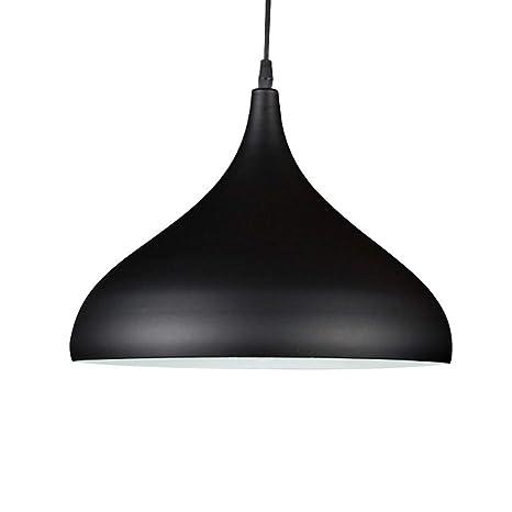 Amazon.com: Moderna lámpara colgante de aluminio E27 con ...
