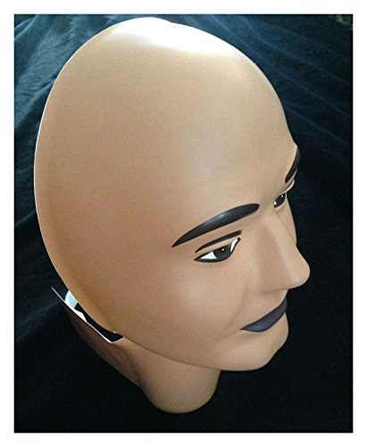 Current Events Halloween Costumes (Head Form Face Cover-Halloween Costume Mask-Man - 10.5-inches)