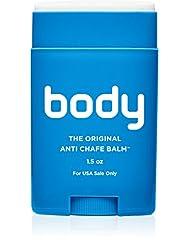 Body Glide Original Anti-Chafe Balm, 1.5 oz (USA Sale Only)