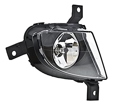Hella 010084021 Fog Lamp Assembly/OE Replacement Right [Passenger] Side Incl. H8 Bulb Fog Lamp Assembly/OE Replacement