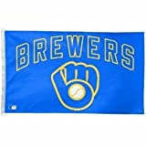 MLB Milwaukee Brewers Retro 3-by-5 foot Flag