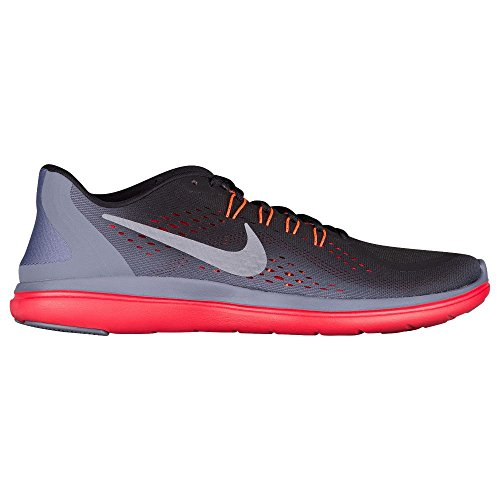 Nike Mens Flex 2017 Rn Nero / Mtlc Cool Grigio-light Carbon