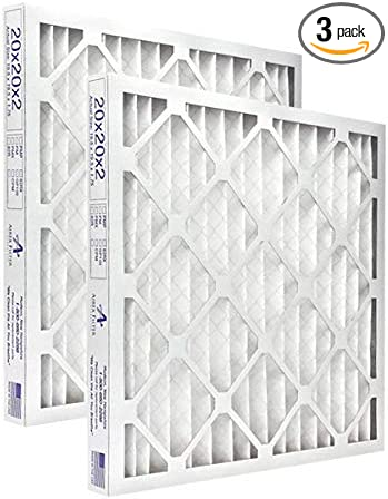 Highest Quality 3 Pack 20x24x4 Pleated Air Filter MERV 8