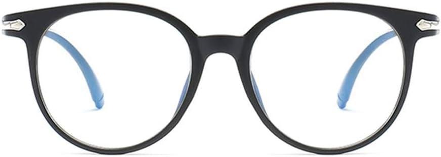 Wiivilik El Bloqueo de luz Azul Gafas Anti Fatiga Visual Decorativo Gafas Blue Ray, Anti Fatiga Visual Gafas Luz Ordenador Gafas de protección radiológica