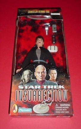 Deanna Troi Star Trek Insurrection Figure With Fabric Clothing 9