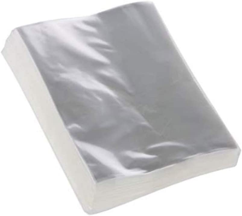 Lezed 200 Pcs Bolsas de Celofán Regalo Transparente Bolsas de Celofán Transparente Autoadhesivas Bolsas Celofán Transparente Plastico Bolsas Bolsa de Plástico de PE Bolsas para Galletas Pastelería