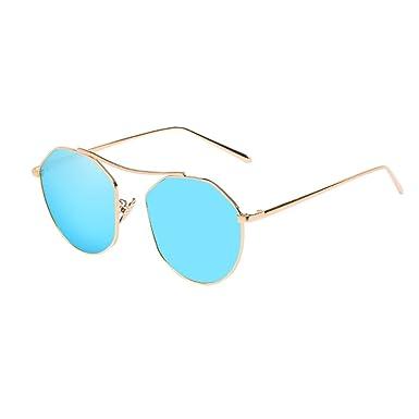 Zhhlaixing Retro Personality Metal Glasses Spring Sunglasses lunettes de Soleil Lunettes de Vue UV400 Protection pour Homme et Femme FMSGl6oR
