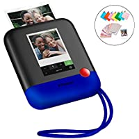 Polaroid Pop 2.0 2-in-1 Wireless Portable Instant 3x4 Photo Printer & Digital 20MP Camera