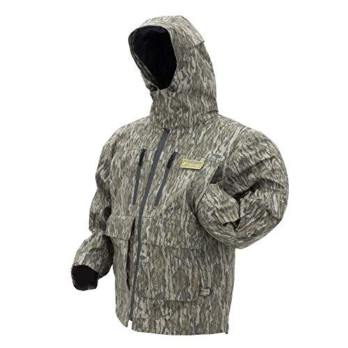 - Frogg Toggs Pilot II Camo Rain Jacket, Mossy Oak Bottomland, Size XX-Large Pilot II Camo Rain Jacket, Mossy Oak Bottomland, XX-Large