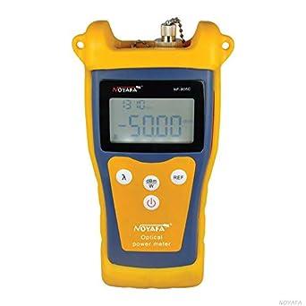 Noyafa NF906C - Medidor de potencia óptico (fibra óptica, rango de detección de potencia