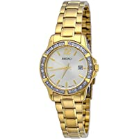 Seiko SUR714 Women's Crystal Dress Quartz Watch