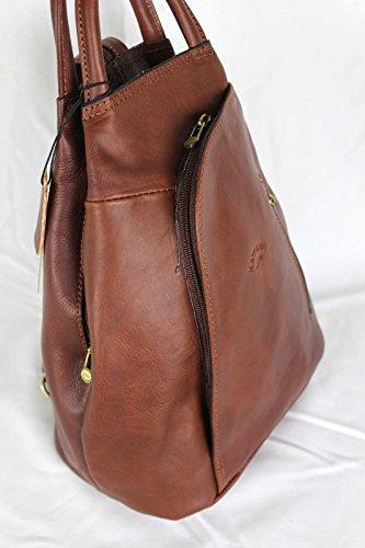 Marron cuir 322018 Katana petit à sac CADEAU SURPRISE dos réf en HBqpOH