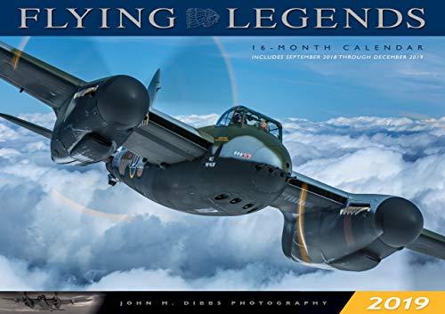 (Flying Legends 2019: 16-Month Calendar - September 2018 through December 2019)