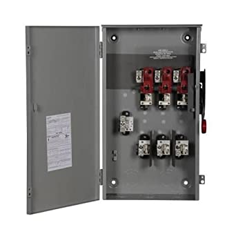 Square D 200 Amp Fusible Heavy Duty Safety Switch 600 Volts,
