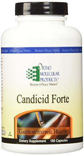 Forte Capsules 180 (Ortho Molecular Products, Candicid Forte 180 capsules)