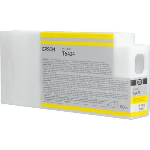 Epson T6424 Ultrachrome HDR Ink Cartridge for Stylus Pro 7900/9900, 150 ml (Yellow)