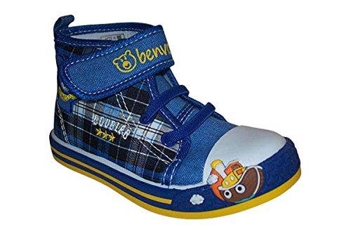 Benvolino - Zapatillas de estar por casa de Material Sintético para niño Azul - azul