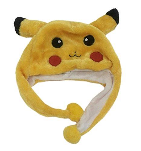 Bigood-Gorra-de-Invierno-Forma-de-Pikachu-para-Espectculo-Amarillo